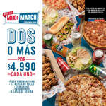 Ofertas de Domino's Pizza, Mix & Match