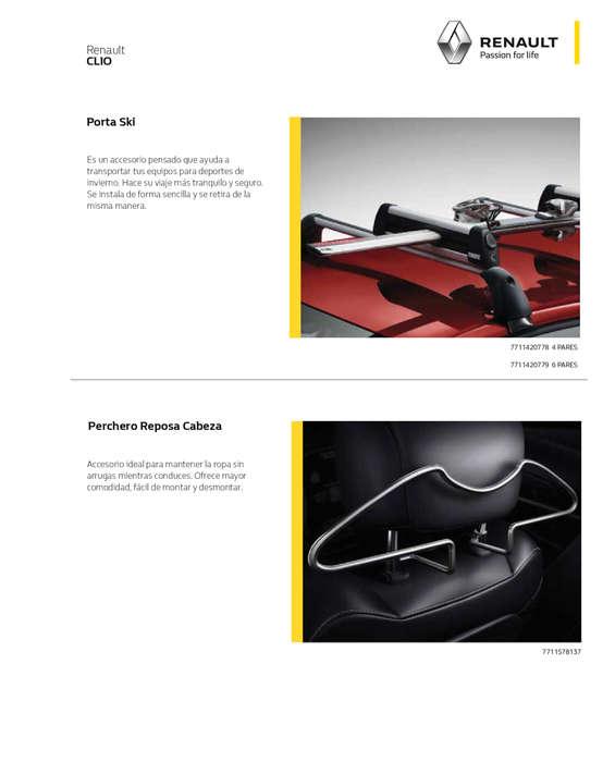 Ofertas de Renault, Accesorios Clio