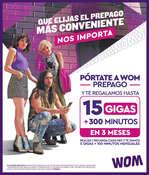Ofertas de WOM, Pórtate WOM Prepago