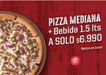 Ofertas de Pizza Hut, Promo Pizza Hut