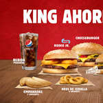 Ofertas de Burger King, King Ahorro