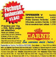 Ofertas Doña Carne