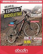 Ofertas de ABCDIN, Especial Bicicletas