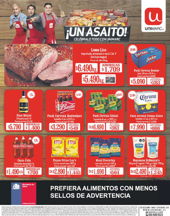 Ofertas de Unimarc, ¡Un Asaito!