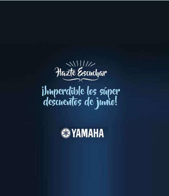 Ofertas de Yamaha Instrumentos, hazte escuchar