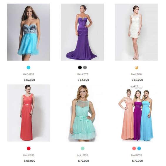Donde comprar vestidos fiesta santiago