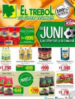 Ofertas de Supermercado El Trébol, ¡Las ofertas a la cancha!